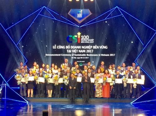 Vietnam's top 100 sustainable firms revealed - ảnh 1