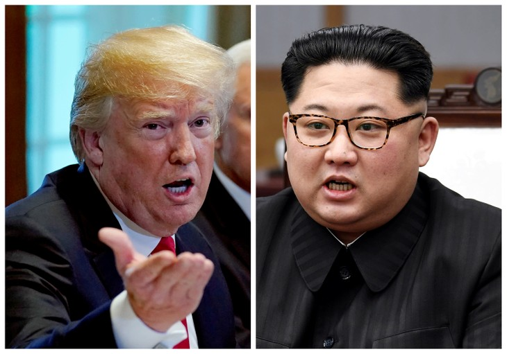 US, North Korean officials meet for talks on possible summit - ảnh 1