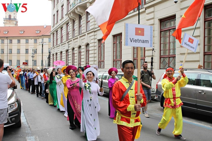 Vietnam joins ethnic festival in Czech Republic  - ảnh 1