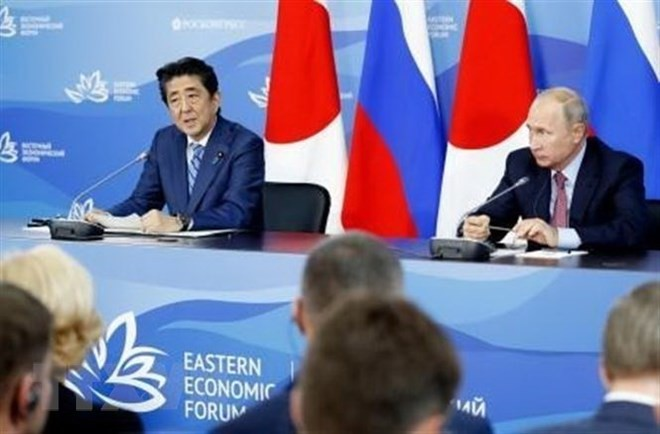 Russia, Japan to continue discussing peace treaty - ảnh 1
