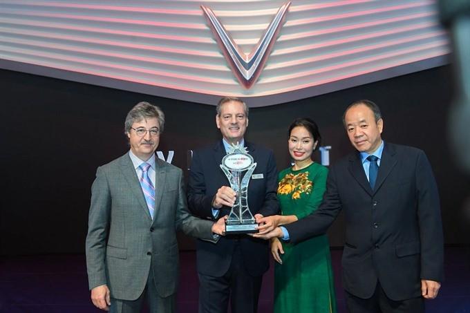 VinFast wins New Star award at Paris Motor Show - ảnh 1