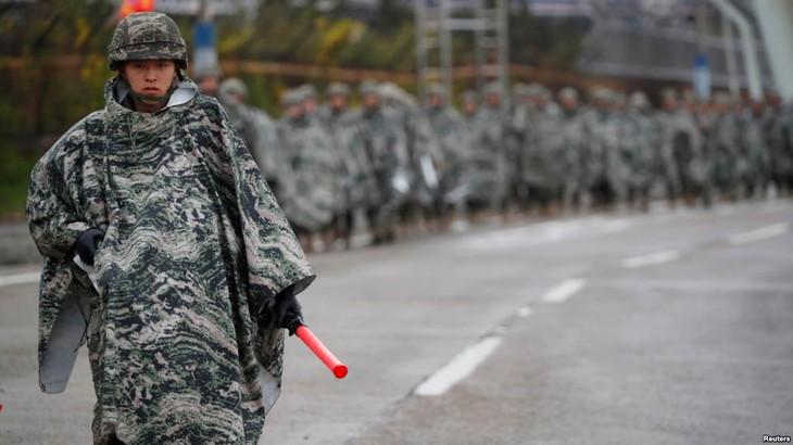 US, South Korea to halt joint military drills  - ảnh 1