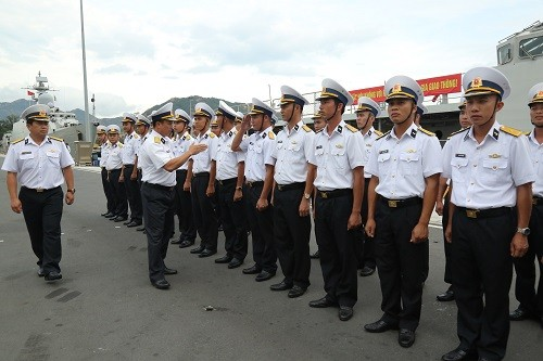 Vietnamese naval ship joins exercise in Singapore - ảnh 1