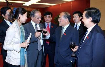 Презентация Вьетнамской Организации парламентариев дружбы с заребежными странами - ảnh 1
