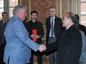 Председатель Национального собрания СРВ Нгуен Шинь Хунг начал визит в Бельгию - ảnh 1