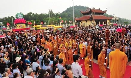 Открылась 5-ая конференция Вьетнамской буддистской сангхи 6-го созыва - ảnh 1