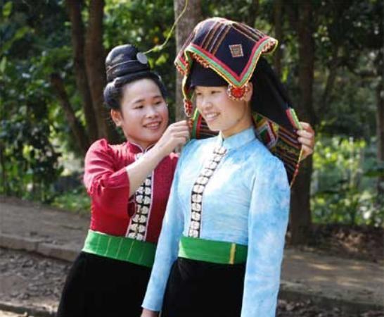 Свадебный обряд народности Тхай - ảnh 1