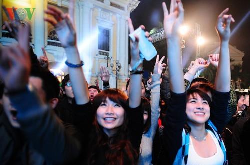 Новогодняя атмосфера в Ханое - ảnh 5