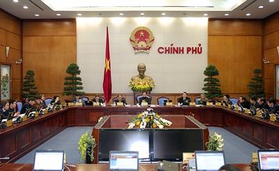 В Ханое началось очередное заседание вьетнамского правительства - ảnh 1