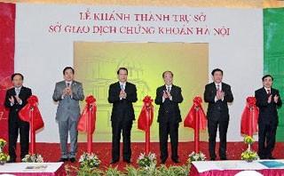 Нгуен Шинь Хунг присутствовал на церемонии открытия здания Ханойской биржи - ảnh 1