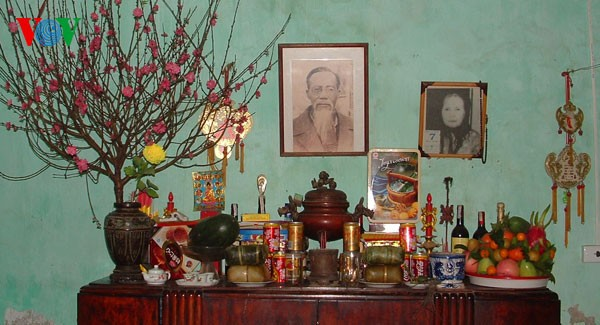 Пять видов фруктов, поставленных на алтаре во время Новогоднего праздника - ảnh 1