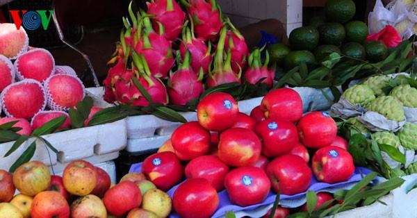 Пять видов фруктов, поставленных на алтаре во время Новогоднего праздника - ảnh 6
