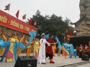 Паломничество на холм Донгда в начале Нового года  - ảnh 3