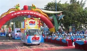 Митинг, посвященный Неделе моря и островов Вьетнама -2012 - ảnh 1