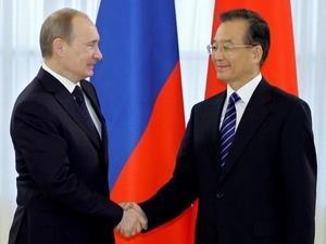 Россия и Китай обязались развивать двустороннее сотрудничество - ảnh 1