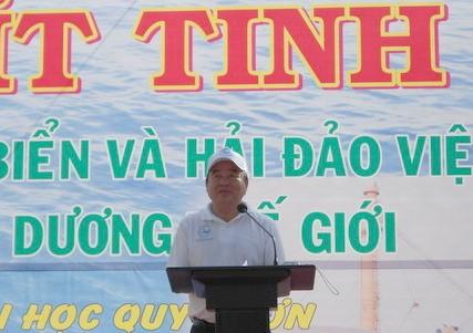 Митинг в поддержку Недели моря и островов Вьетнама - ảnh 1