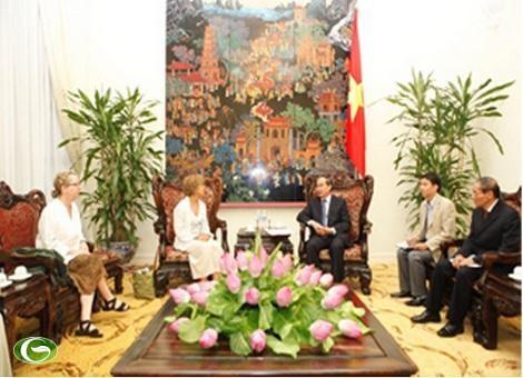Нгуен Тхиен Нян принял делегацию Американского Совета по науке и здоровью - ảnh 1
