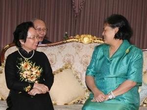 В Таиланд с официальным визитом прибыла Вице-президент СРВ Нгуен Тхи Зоан - ảnh 1