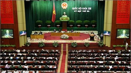 Об итогах работы 3-й сессии Национального собрания СРВ 13-ого созыва - ảnh 1