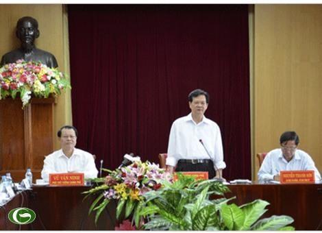 Нгуен Тан Зунг встретился с руководителями провинции Киензанг - ảnh 1