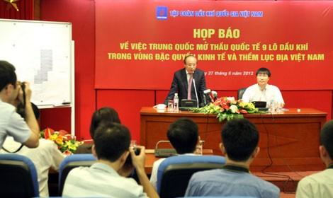 Пресс-конференция генерального директора компании «ПетроВьетнам» - ảnh 1