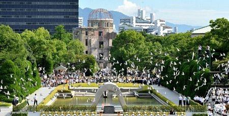 Япония отметила 67-ю годовщину атомной бомбардировки Хиросимы - ảnh 1