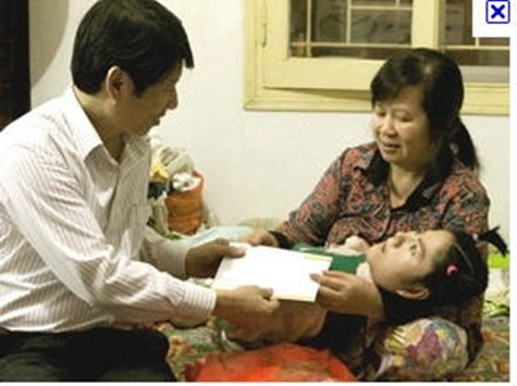 Гуманитарная программа ради детей-жертв дефолианта «Эйджент орандж» - ảnh 1