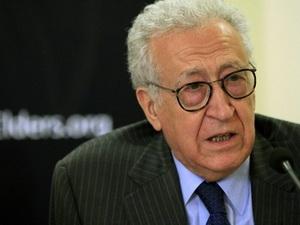 Лахдар Бразими призвал к прекращению гражданской войны в Сирии - ảnh 1