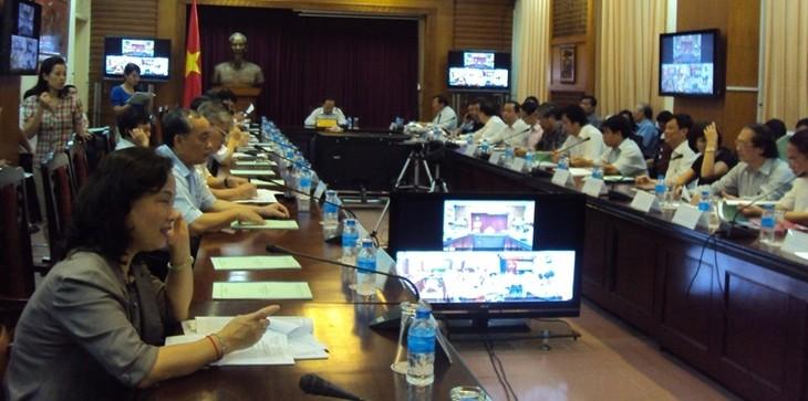 Всенациональное онлайн-заседание по развитию вьетнамского туризма - ảnh 1