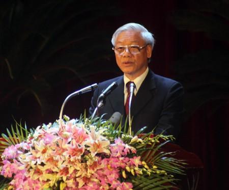 110-летие со дня рождения генсека ЦК Компартии Индокитая Ле Хонг Фонга - ảnh 1