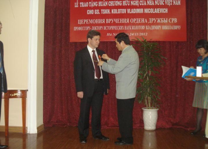 Интервью российского учёного, награждённого орденом Дружбы СРВ - ảnh 2