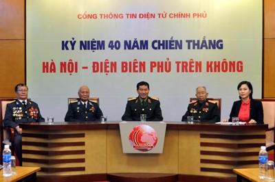 Онлайн-беседа о Победе в битве над Ханоем - Диенбиенфу в воздухе - ảnh 1