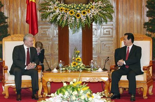 Стартовали переговоры по Соглашению о свободной торговле между Вьетнамом и Таможенным Союзом - ảnh 1