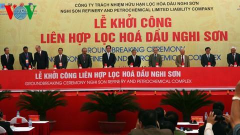 Премьер-министр СРВ принял участие в церемонии начала строительства комплекса «Нгишон» - ảnh 2