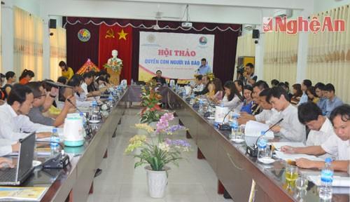 В провинции Нгеан прошел научный семинар «Права человека и свобода печати» - ảnh 1