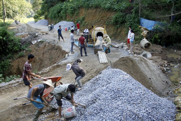 Строительство новой деревни в общине Шинченг провинции Лаокай - ảnh 2