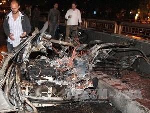Мощный взрыв прогремел недалеко от столицы Сирии - ảnh 1