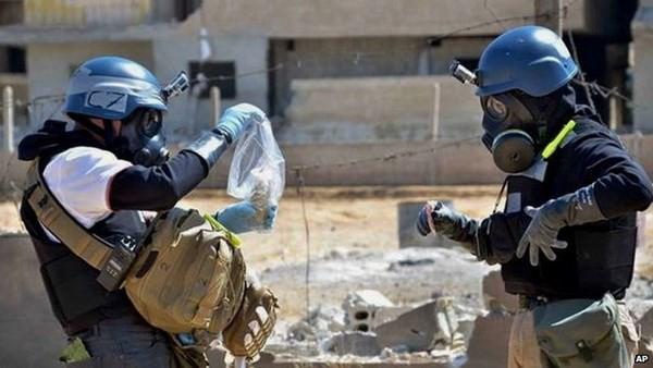 ОЗХО обсуждает план уничтожения сирийского химического оружия - ảnh 1