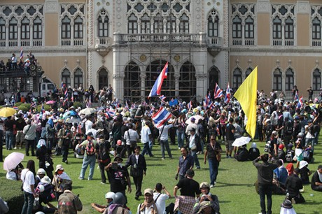 Таиланд: демонстранты вошли в здание правительства - ảnh 1