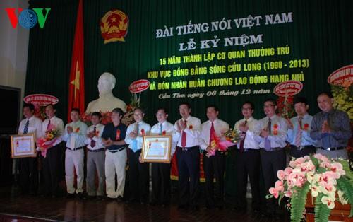 15-летие со дня открытия корпункта Голоса Вьетнама в дельте реки Меконг - ảnh 1