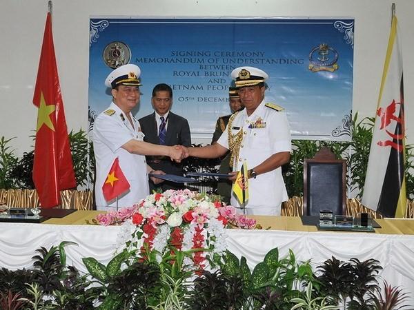 ВМС Вьетнама и Брунея установили горячую линию - ảnh 1