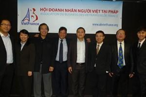 Общество вьетнамских бизнесменов во Франции отметило 3-ю годовщину своего образования - ảnh 1