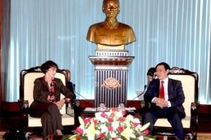 Зампомощника президента США находится во Вьетнаме с визитом - ảnh 1