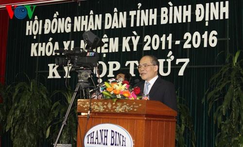 Провинция Биньдинь должна показать населению порядок выполнения Конституции страны - ảnh 1