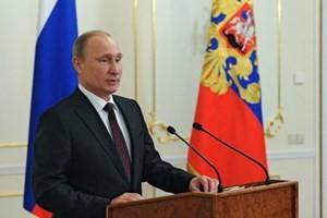 Владимир Путин выступил с посланием к Федеральному собранию - ảnh 1