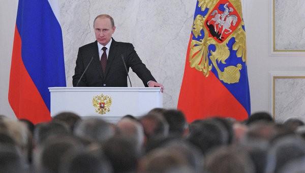 Владимир Путин обратился с ежегодным посланием к Федеральному Собранию - ảnh 1