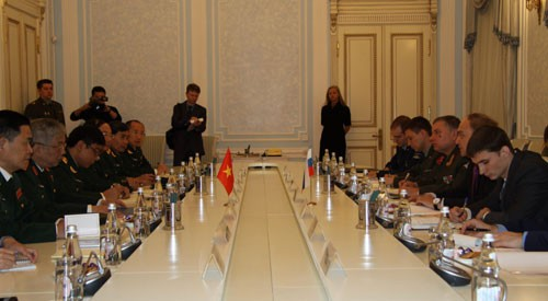 В Москве состоялся первый вьетнамо-российский стратегический оборонный диалог - ảnh 1