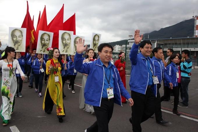 Вьетнам принимает участие в 18-м всемирном фестивале молодёжи и студентов - ảnh 1