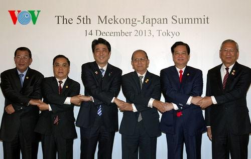 Саммит Меконг-Япония: стороны форсируют сотрудничество во имя развития дельты реки Меконг - ảnh 2