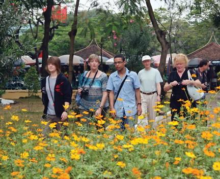 35 млн туристов посетили дельту Красной реки в 2013 году - ảnh 1